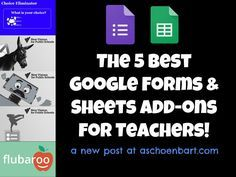 The 5 Best Google Forms & Sheets Add-ons for Teachers | Tech Learning