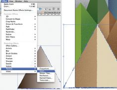 How to add depth & texture in Illustrator. Great tutorial!