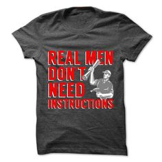 Real Men Don't Need Instructions (red) T Shirts, Hoodies. Get it here ==► https://www.sunfrog.com/Funny/Real-Men-Dont-Need-Instructions-red.html?57074 $20