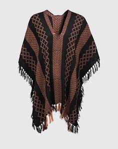 Gewebter Poncho 'Weave' auf Stylelounge.de