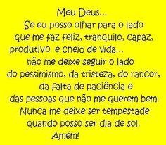 Oração.