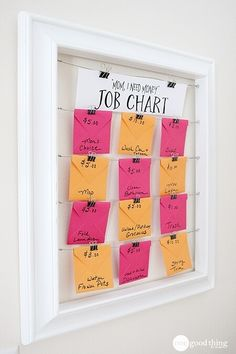 Mom I Need Money Job Chart. Family Chore Charts, Chore Chart Kids, Kids And Parenting, Parenting Hacks, Parenting Styles, Chore Board, Job Chart, Charts For Kids, Chore Charts For Teenagers