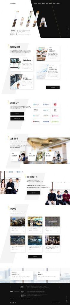 Web Design, Site Design, About Me Blog, Design Inspiration, Layout, Website, Art Direction, Japan, Layout Inspiration