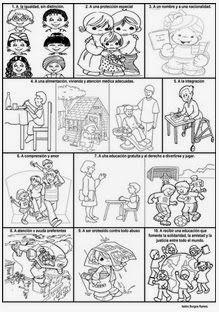 Las 23 Mejores Imágenes De Derechos De Los Niños School Kids Y