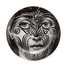 Fornasetti Theme & Variations Decorative Plate #9