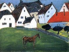 Marianne von Werefkin (1860-1938) werd in 1860 in het Russische Tula, in de buurt van Moskou, geboren als telg van een rijke adellijke familie. Toen zij acht jaar oud was, verhuisde de familie naar een landgoed in Litouwen. Haar moeder, die zelf schilderes van ikonen was, moedigde haar dochter aan op het artistieke vlak.