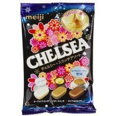 Coffee, Butter, Royal Milk Tea: Meji Chelsea Scotch Candy (Japanese Import) --- http://www.amazon.com/Coffee-Butter-Royal-Milk-Tea/dp/B004J61HQW/?tag=httpvlmarketi-20