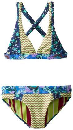 c23d96f33453e Maaji Big Girls  Limon Tide Bikini Set