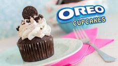 ♡ Hoy os traigo un cupcake que seguro hará las delicias de todos vosotros. Cupcakes de galletas Oreo! ♡ ****************************************************...