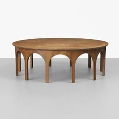 "T.H. Robsjohn-Gibbings Constellation coffee table, 1956, 48"" diameter #GISSLER #interiordesign"