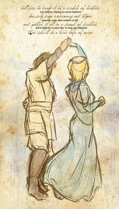 Obi-Wan and Duchess Satine. I shipped them throughout the Clone Wars and I was devastated when she died. I mean, I always knew she would but I never wanted her to...
