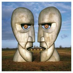 'Album Cover Pink Floyd The Division Bell' Framed Photographic Print Home Loft Concept David Gilmour, Abbey Road, Imagenes Pink Floyd, Dark Side, Pink Floyd Album Covers, Storm Thorgerson, Atom Heart Mother, Concept Album, Great Albums