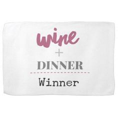 Wine Towel - kitchen gifts diy ideas decor special unique individual customized