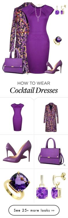 """outfit 2398"" by natalyag on Polyvore featuring View, Christian Louboutin, LineShow, Tiffany & Co. and StyleRocks"