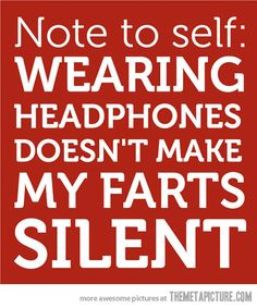 Important note to self…hilarious!