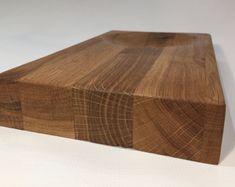 Handmade Reclaimed Oak Wooden Chopping Board by Zennor Made Reclaimed Oak worktop wood cheeseboard cutting board serving platter olive bowl #ad