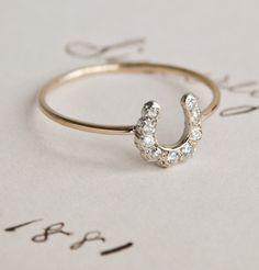 Erica Weiner Horseshoe Ring