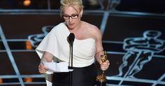 """At the 2015 Oscars, """"political speeches were the rule, not the exception."""" Michael Schulman on how the night's big winners fared: http://nyr.kr/1GlBcGz (Photograph by Kevin Winter / Getty)"""