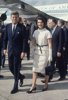 The President and Mrs Kennedy, November 21, 1963