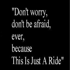 This is just a ride
