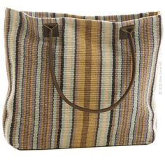 f546ebe12385 Dash  amp  Albert s carryall rug bag has a woven construction and is  hand-loomed
