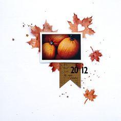 AMANDA JONES DESIGNS - cut from vellum and spritzed!  Love the negative heart cut from leaf.