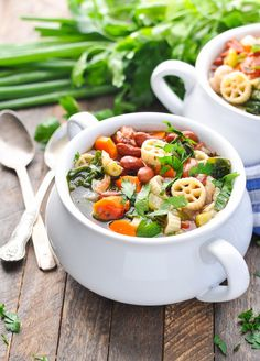 This recipe for Minestrone Soup was originally published in September, 2014. The photos were updated in October, 2017. Full of good-for-you beans, veggies, and pasta, this heartyMinestrone Soupis a satisfying vegetarian dinner that will keep you cozy on a cool autumn evening! It's officially fall, and I can't think of a better way to celebrate...Read More »