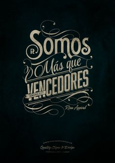 Mas que vencedores | Victorious - t-shirt on Behance