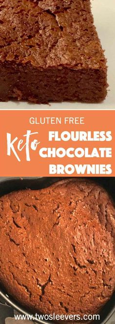 Five Ingredient Keto Flourless Brownies are moist, delicious, and have 3 gms of carbs per serving. These taste just like the real thing!