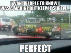 Marine Corps humor. hahaha