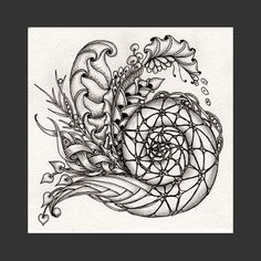 Zentangle - Doodles (By Norma Burnell)