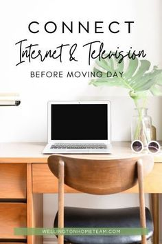 Just as your utilities are going to be essential in your new home, you don't want to be left without internet or TV for weeks when you move especially if you work from home. #movingday #realestate #homebuying #homeselling