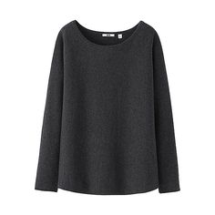 WOMEN Cashmere Round Neck Relaxed Sweater