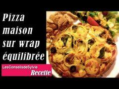 Ep 79 - Recette - Pizza maison sur wrap/tortilla équilibrée [Rééquilibrage alimentaire - Régime]