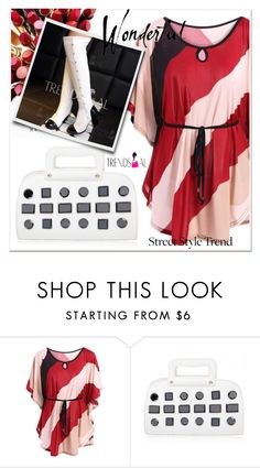 """Women's Plus Size T-Shirt"" by selmir ❤ liked on Polyvore featuring trendsgal"