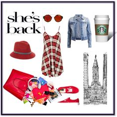 shes back by adela-ancuta on Polyvore featuring VILA, Vans and Genie by Eugenia Kim