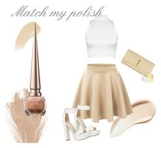 """""""Match my polish - nude"""" by michellewl on Polyvore"""