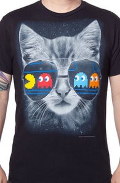 Cat Scratch Pac-Man Fever T-Shirt