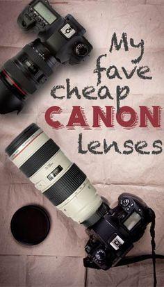 Interessanter Blog-Beitrag über 6 Linsen für Canon-Kameras. Allerdings sind nicht wirklich alle günstig....