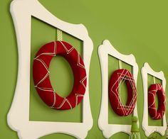 FloraCraft® Felt Wrapped Wreaths #christmas #craft