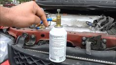 Self service recharging the AC system Freon on the Audi - Auto Repair Series Assurance Auto, Ac System, Classic Car Restoration, Car Insurance Tips, Car Hacks, Car Cleaning, Cleaning Hacks, Audi A4, Car Wash