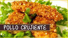 Receta Pollo crujiente rebozado con kikos (maíz frito)