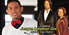 Nabil lawak kasar ditegur Datuk M Nasir - http://malaysianreview.com/149036/nabil-lawak-kasar-ditegur-datuk-m-nasir/