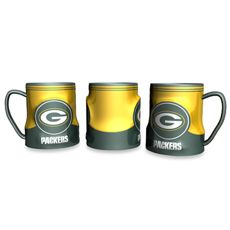 20-Ounce Sculpted Team Coffee Mug - Packers - Bed Bath & Beyond