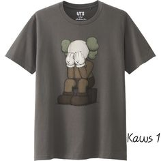 70c5b6e9 This is piece is a collaboration of a famous streetwear brand KAWS togther  with Uniqlo, forming a very different variations of t-shirt designs  (Marketing ...