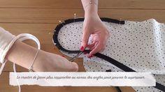 DIY : Coudre un coussin nuage passepoilé