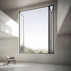 I want a giant window-small chair production someday.