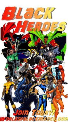 WorldofBlackHeroes | Dedicated to Black superhero News, Reviews, Previews, Sales figures, Interviews, Galleries and the people who bring them to us.