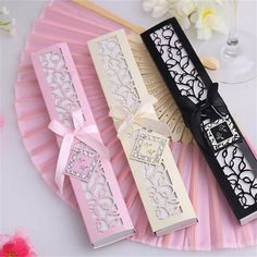 1pc Ivory Bridal Chinese Bamboo Silk Hand Fan Wedding Favors Guests Gifts HP #UnbrandedGeneric