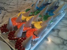 Chacha's rainbow unicorn cupcakes
